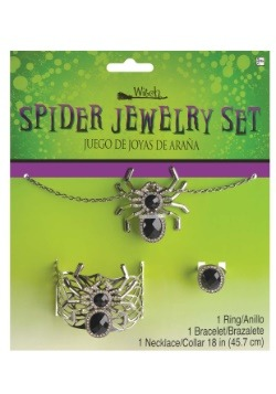 Spider Jewelry Set