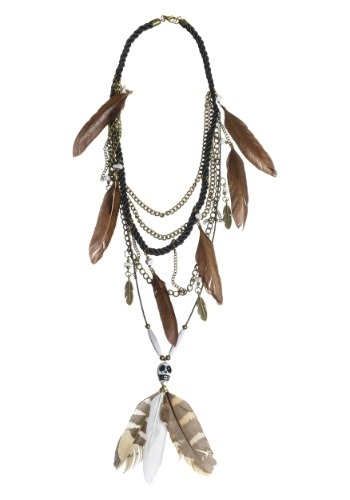 Multi Strand Voodoo Necklace