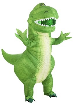 Toy Story Rex Inflatable Adult Costume