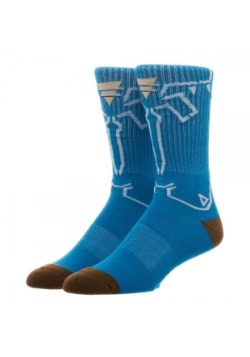 Nintendo Zelda Breath of the Wild Crew Socks