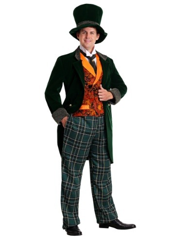 Click Here to buy Plus Size Deluxe Mad Hatter Costume from HalloweenCostumes, CDN Funds & Shipping
