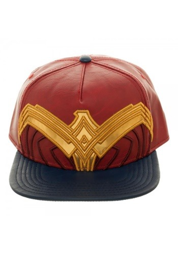 Click Here to buy DC Comics Wonder Woman Suit Up Applique Snapback Hat from HalloweenCostumes, CDN Funds & Shipping