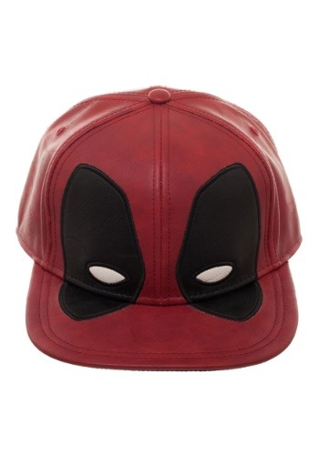 Deadpool: Big Face Distressed PU Snapback Hat