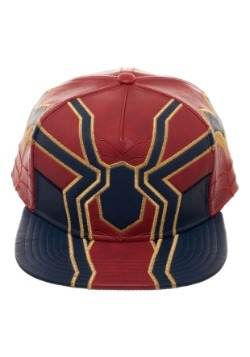 Avengers Infinity War Iron Spider Suit Up PU Snapback Hat