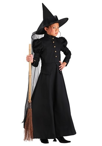 Click Here to buy Deluxe Witch Girls Costume from HalloweenCostumes, CDN Funds & Shipping