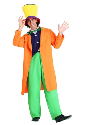 Click Here to buy Mad Hatter Adult Costume from HalloweenCostumes, CDN Funds & Shipping