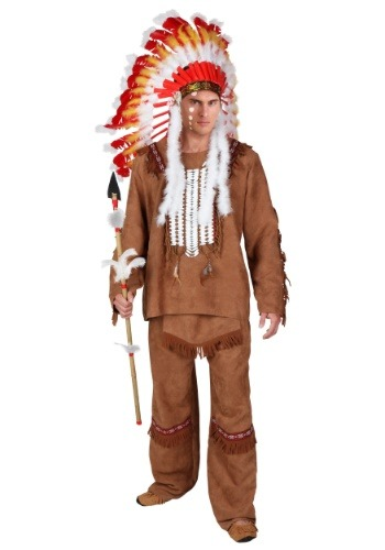 Deluxe Mens Native American Costume