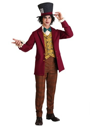 Click Here to buy Mad Hatter Mens Costume from HalloweenCostumes, CDN Funds & Shipping