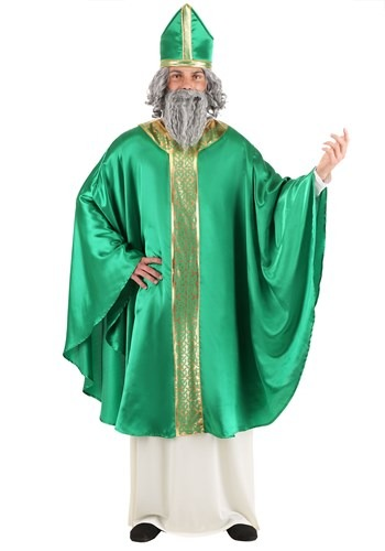 Click Here to buy Saint Patrick Mens Costume from HalloweenCostumes, CDN Funds & Shipping