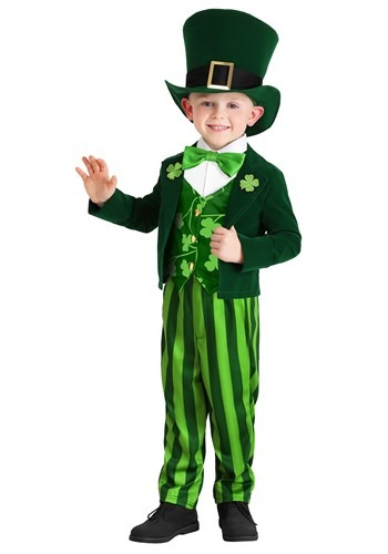 Click Here to buy Toddlers Leprechaun Costume from HalloweenCostumes, CDN Funds & Shipping