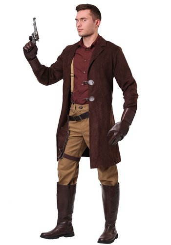 Click Here to buy Firefly Malcolm Reynolds Plus Size Mens Costume from HalloweenCostumes, CDN Funds & Shipping