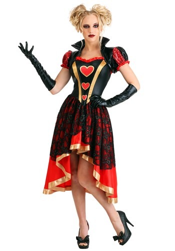 Womens Dark Queen of Hearts Costume