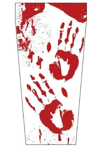 Bloody Hand Prints Party Cup
