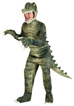 Adult's Dangerous Alligator Plus Size Costume