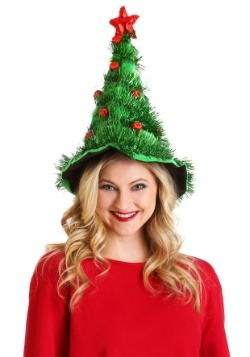 Festive Light-Up Christmas Tree Hat