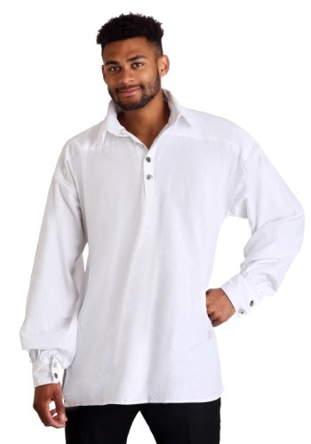 Click Here to buy Mens White Renaissance Shirt from HalloweenCostumes, CDN Funds & Shipping