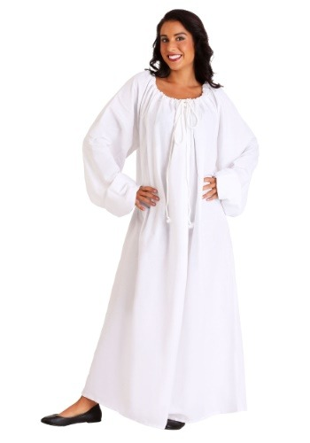 Click Here to buy White Renaissance Chemise Costume from HalloweenCostumes, CDN Funds & Shipping
