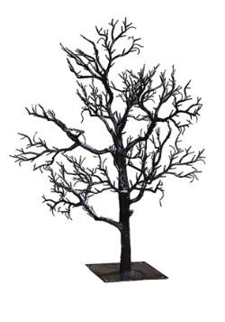 """32"""" Black Twig Creepy Tree"""