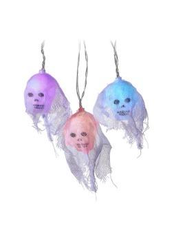Color Change Skull 10 Piece LED Light Set