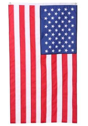 USA Embroidered Nylon Flag - 3' x 5'