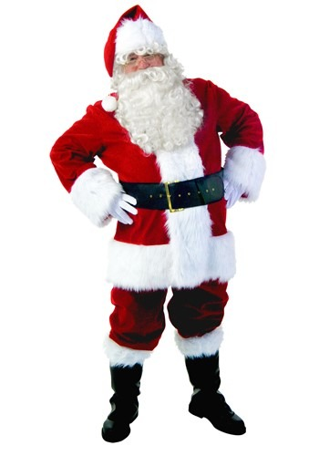 Click Here to buy Premiere Santa Suit Costume from HalloweenCostumes, CDN Funds & Shipping