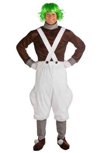 Classic Chocolate Factory Worker Mens Costume