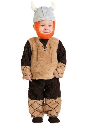 Click Here to buy Baby Boys Adorable Viking Costume from HalloweenCostumes, CDN Funds & Shipping