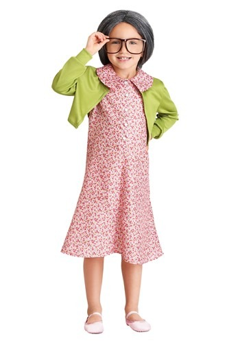 Grammy Gertie Girls Costume | Funny Kids Halloween Costume