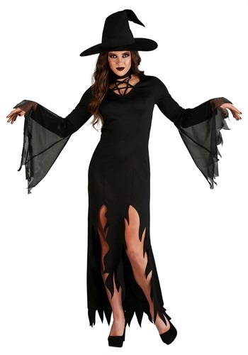 Click Here to buy Womens Coven Countess Witch Costume from HalloweenCostumes, CDN Funds & Shipping