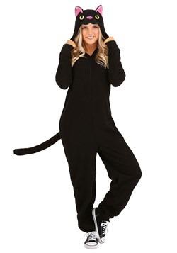 Adult Black Cat Onesie