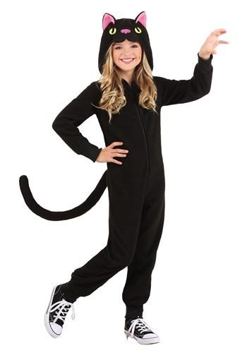 Black Cat Onesie for Kids