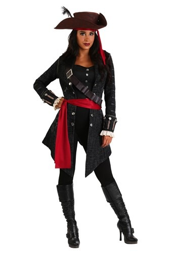 Click Here to buy Plus Size Womens Fearless Pirate Costume from HalloweenCostumes, CDN Funds & Shipping