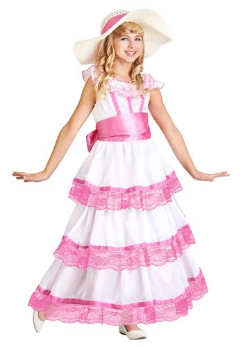 Click Here to buy Sweet Southern Belle Girls Costume from HalloweenCostumes, CDN Funds & Shipping