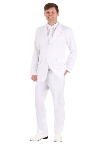 Mens White Suit Costume | Mens Angel Costume