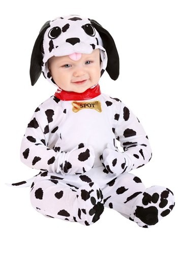 Click Here to buy Baby Dapper Dalmatian Costume from HalloweenCostumes, CDN Funds & Shipping