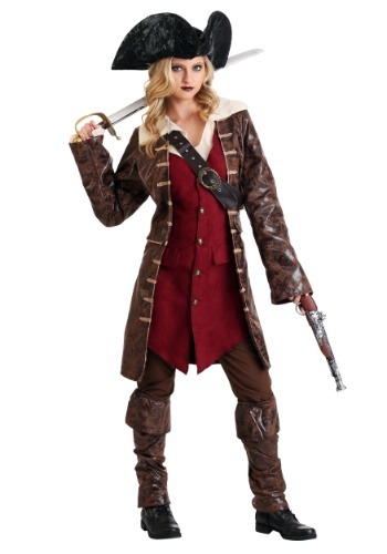 Click Here to buy Womens Caribbean Pirate Costume from HalloweenCostumes, CDN Funds & Shipping