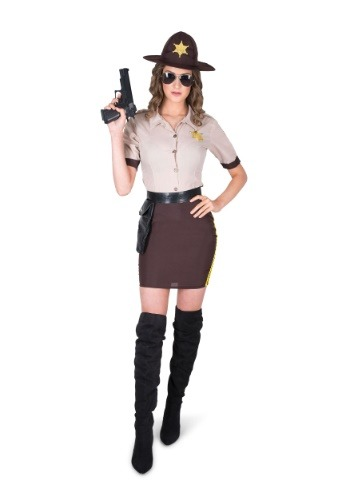 Sultry Sheriff Womens Costume