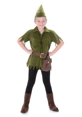 Click Here to buy Peter Pan Costume for a Boy from HalloweenCostumes, CDN Funds & Shipping