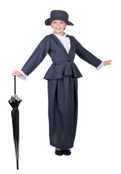 Girl's Magical Nanny Costume
