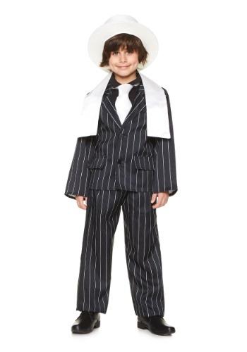 Boys Gangster Boss Costume