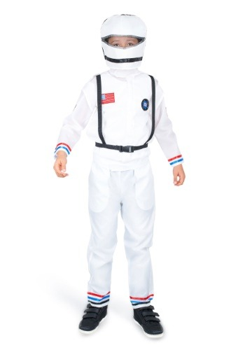 Click Here to buy Space Astronaut Costume for a Boy from HalloweenCostumes, CDN Funds & Shipping