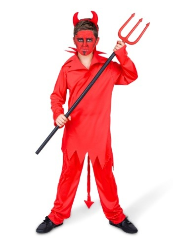 Click Here to buy Boys Classic Devil Costume from HalloweenCostumes, CDN Funds & Shipping