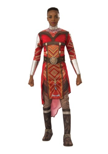 Click Here to buy Black Panther Deluxe Dora Milaje Adult Costume from HalloweenCostumes, CDN Funds & Shipping