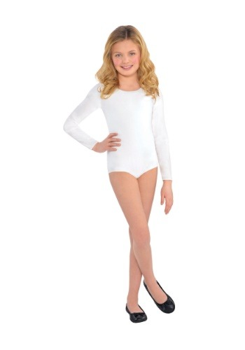 White Bodysuit Costume for a Child