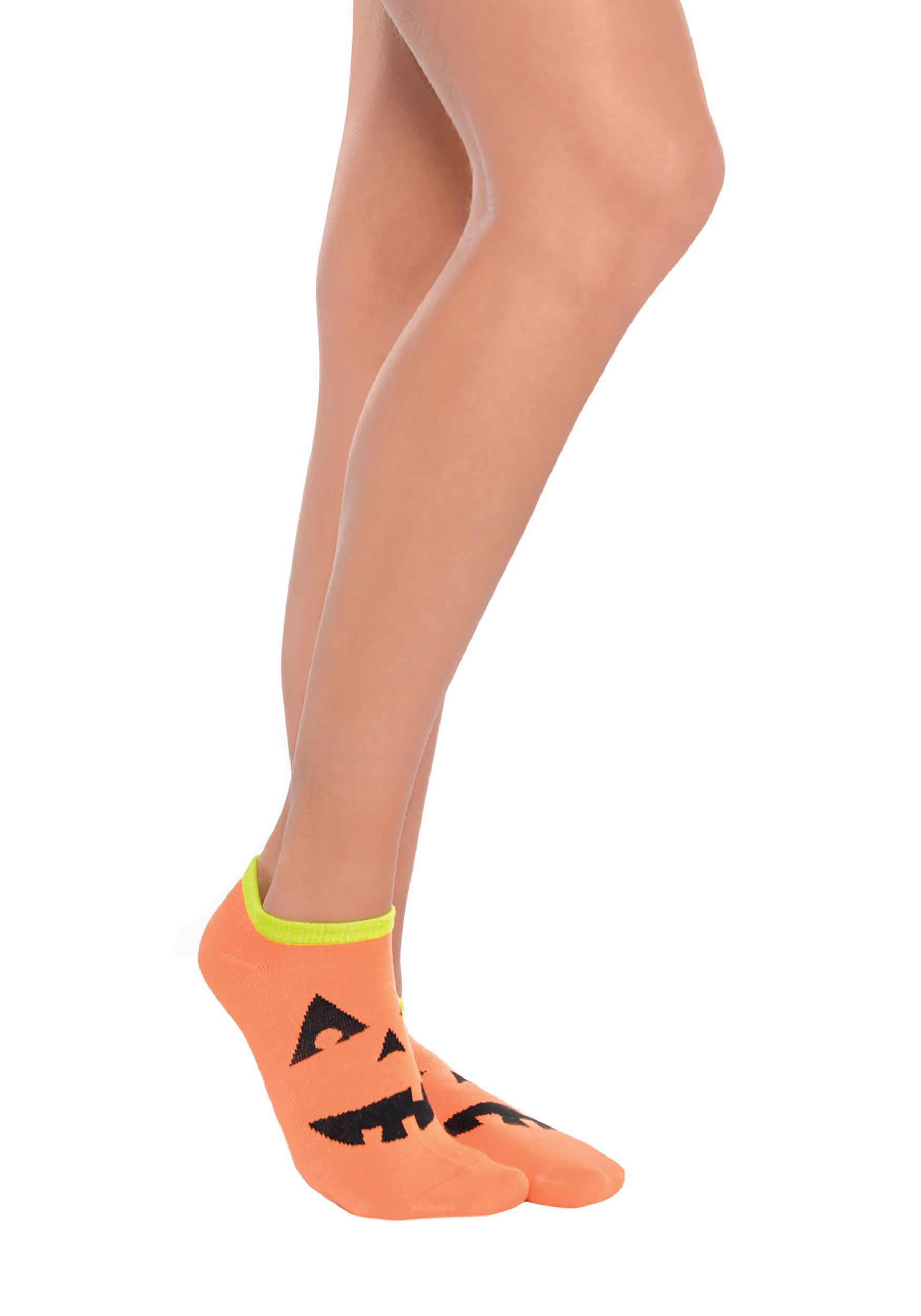 Jack_O_Lantern_Ankle_Socks