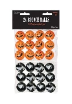 Halloween Bouncy Balls (24 per pack)