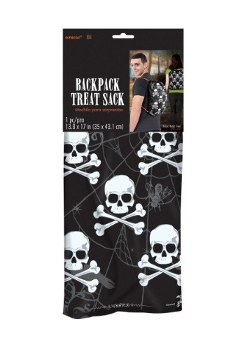 Halloween Skull & Bones Backpack