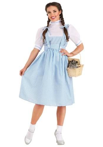 Kansas Girl Long Dress Costume