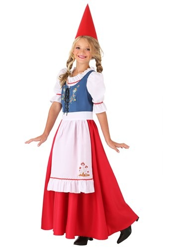 Girl's Garden Gnome Costume