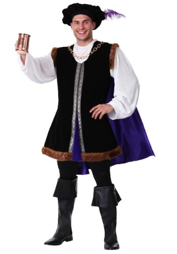 Noble Renaissance Man Costume